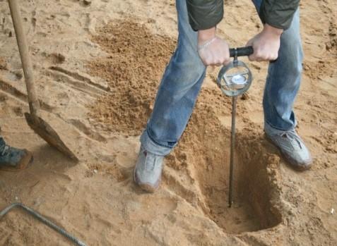испытания песка