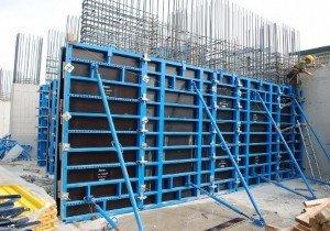 Опалубка для бетонных строительных работ, гонт и дранка деревянные