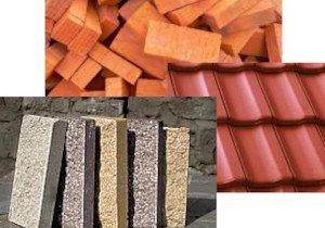 Черепица, плиты, кирпичи и аналогичные изделия из цемента, бетона или искусственного камня
