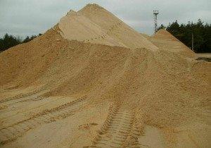 Пески природные